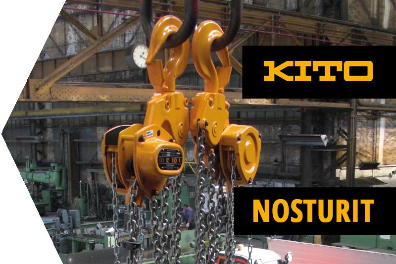 KITO, käsikäyttöiset nostolaitteet, nosturit, Nosturijärjestelmät